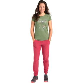 VAUDE Skomer Print Camiseta Mujer, cedar wood